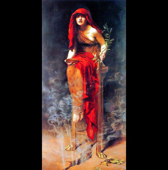 John Collier Priestess of Delphi