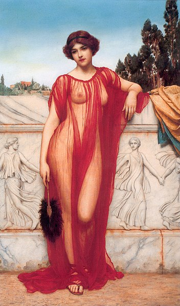 352px-John_William_Godward_-_Athenais_-_1908