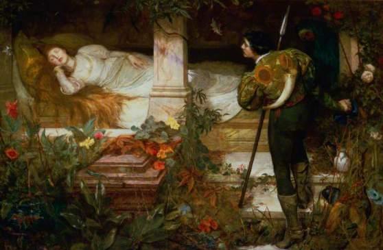 Brewtnall, Edward Frederick, 1846-1902; Sleeping Beauty