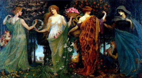 The Masque of the Four Seasons- Walter Crane