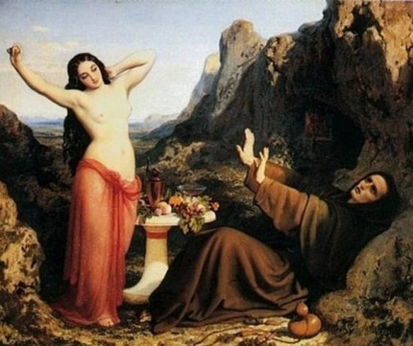 The Temptation of Saint Hilarion
