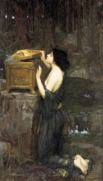 John William Waterhouse- The Pandora's Box
