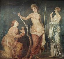 Fresco_from_the_Golden_House_of_Nero,_found_in_Rome_in_1668,_Ashmolean_Museum_(8401788678)